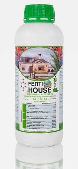 Fertilizante mineral FertiHouse Crecimiento Vegetativo